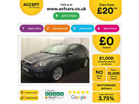 Ford Focus Zetec FROM £20 PER WEEK!