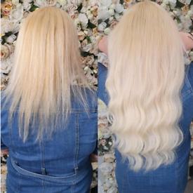 Keratin bond Hair extentions