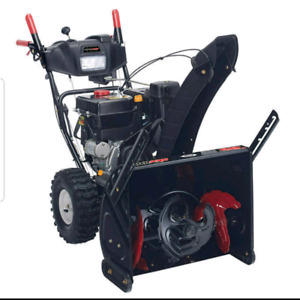 Like new condition snowblower