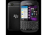 Blackberry Q10 - EE- 16gb - receipt & warranty -