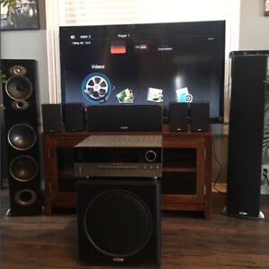 Complete Television with Surround Sound Speaker System