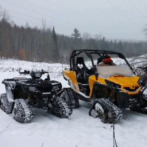 2012 Commander XT with Tracks