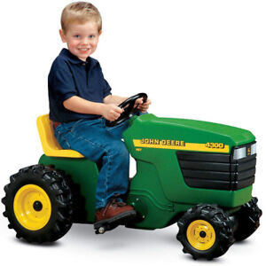 John Deere Plastic Ride-On Pedal Tractor