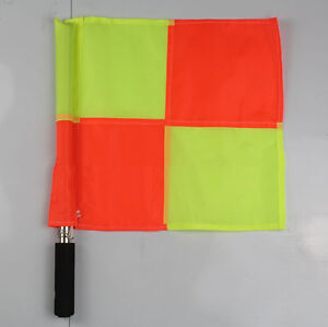 HOT-Premier-Linesman-Flags-Set-Football-Rugby-Hockey-Training-Referee-Flags-1PCS