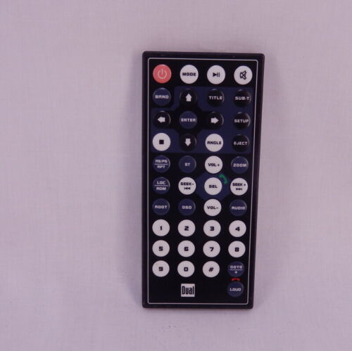 Dual Audio Car Stereo Receiver Replacement Remote Control