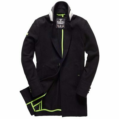 Superdry Highwayman Bridge Coat Size:M RRP £99.99 WHEN YOU BUY FROM SUPERDRY