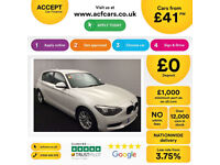 BMW 116 FROM £41 PER WEEK!