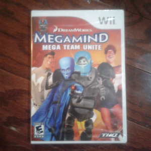 Wii game - megamind