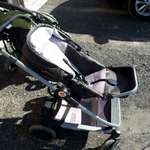 Baby stroller with car seat all adaptable