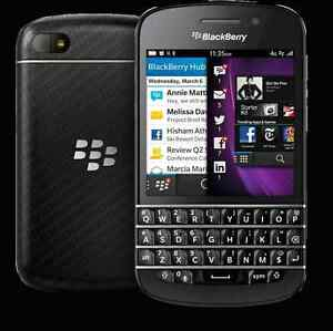 Blackberry Q10 16GB 8MP 2GB Ram Unlocked For Wind and All carrie