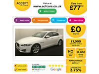 Jaguar XE FROM £77 PER WEEK!