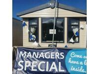 Static caravan for sale on Lyons robin hood in North wales