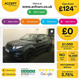 Land Rover Range Rover Evoque FROM £124 PER WEEK!