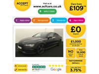 Black AUDI A7 HATCHBACK 3.0 TDI Diesel SPORT S LINE FROM £109 PER WEEK!