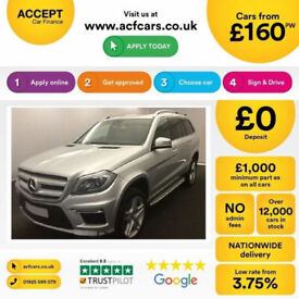 Mercedes-Benz GL350 AMG FROM £160 PER WEEK!