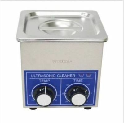 Ultrasonic Cleaner 2l Heater Timer Stainless Dental Jewelry 80 Degree 80w
