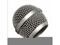 SHURE SM58, REPLACEMENT MIC MESH, BRAND NEW.