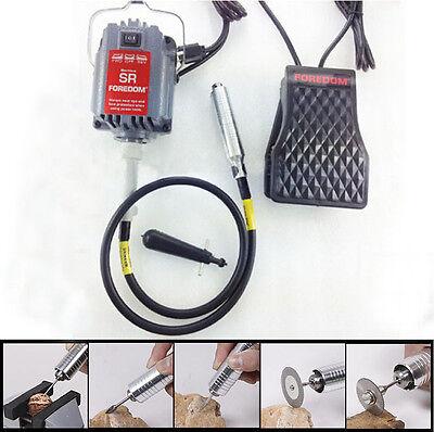 110V SR Hanging Flexshaft Mill Motor Jewelry Design & Repair Kits 4mm