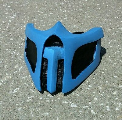 NEW Handmade Mortal Kombat cosplay mask costume Sub zero Theme US (No Scratches)