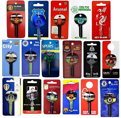 OFFICAL FOOTBALL CLUB TEAM  - BLANK DOOR KEYS KEY STADIUM - SOUVENIR GIFT XMAS