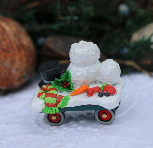 Wee Forest Folk M-453r Snowman Makings NEW (2020)