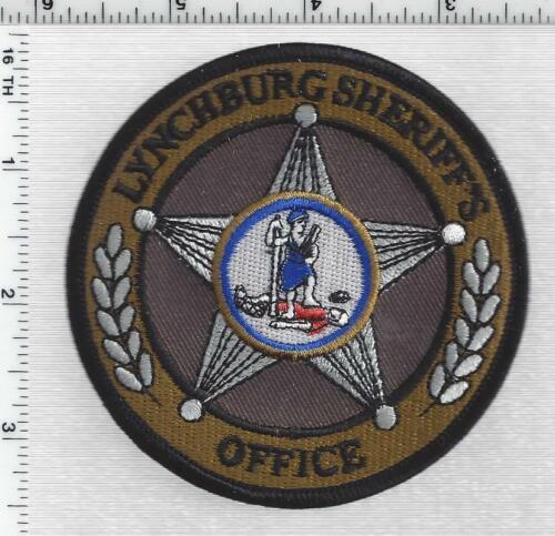 Lynchburg Sheriff (Virginia) 5th Issue Shoulder Patch