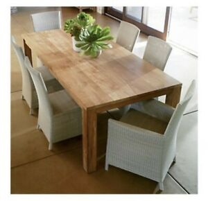 Crate & Barrel Pacifica Dining Table