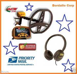 GARRETT-ACE-350-METAL-DETECTOR-WITH-HEADPHONES-AND-INSTRUCTIONAL-DVD