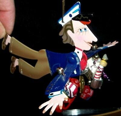 NEW Fanciful Flight BOATER SAILOR NAVY PERFECT BIRTHDAY GIFT CHRISTMAS Ornament - Fanciful Gifts