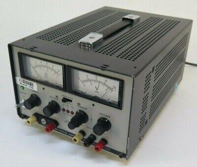 Kikusui Pwc0620 Regulated Dc Power Supply 6v 3a -20v