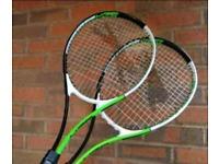 Tennis racquets X2 Slazenger