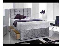 Super King Divan and Headboard (without mattress)