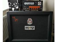 Orange Jim Root Signature 15w Head and 2x12 Cabinet MINT with boxes