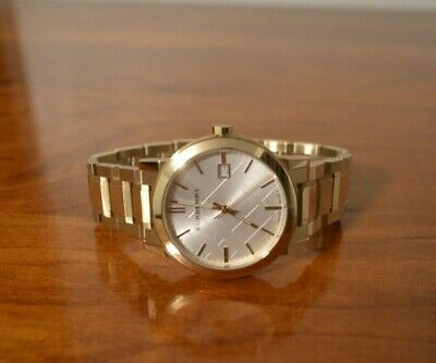 Burberry Mens Gold Watch
