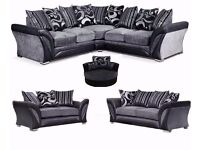 BRAND NEW DFS SHANNON CORNER OR 3+2 SOFA FREE STORAGE POUFFE WITH ALL SOFAS