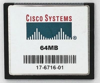 Genuine Cisco 64mb Compact Flash Card