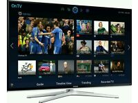 "SAMSUNG 55"" LED Smart 3D tv wifi built USB MEDIA PLAYER HD FREEVIEW full hd 1080p ."