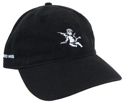 G O O D  Good Music Angel Black Baseball Hat Cap Osfm New Official Kanye West