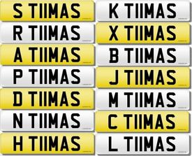 THOMAS Private Number Plate's - X T11MAS - Many more available!!!£695 Each!