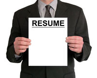 Resume & Cover Letter Editing