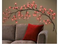 Red LED Wall Lights