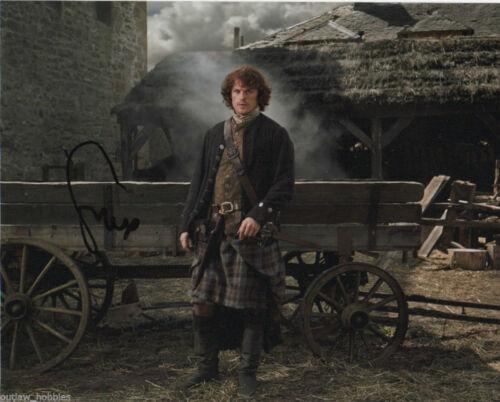 Sam Heughan Outlander Autographed Signed 8x10 Photo COA #A2