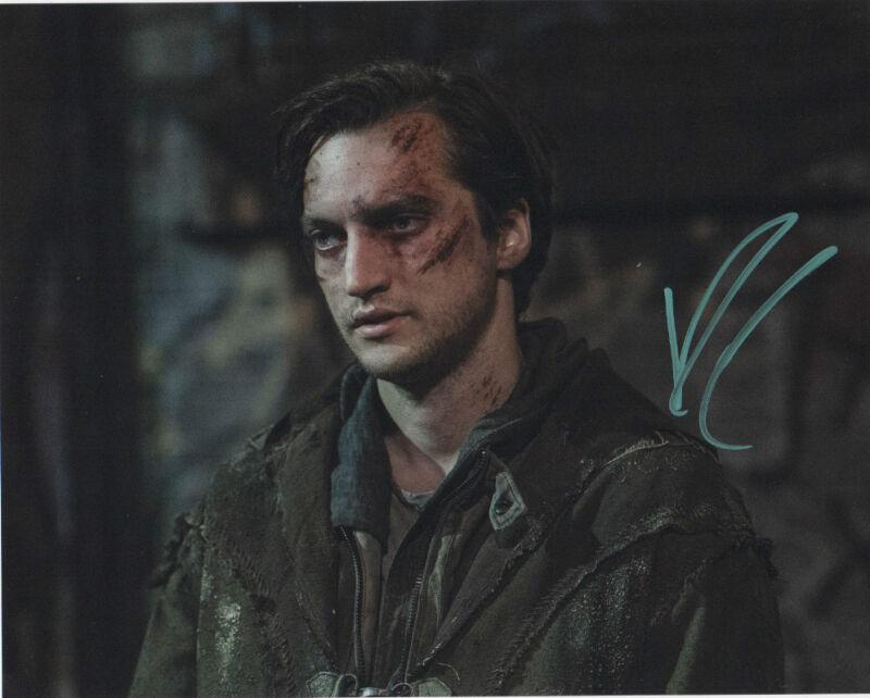 Richard Harmon The 100 Signed Autographed 8x10 Photo COA