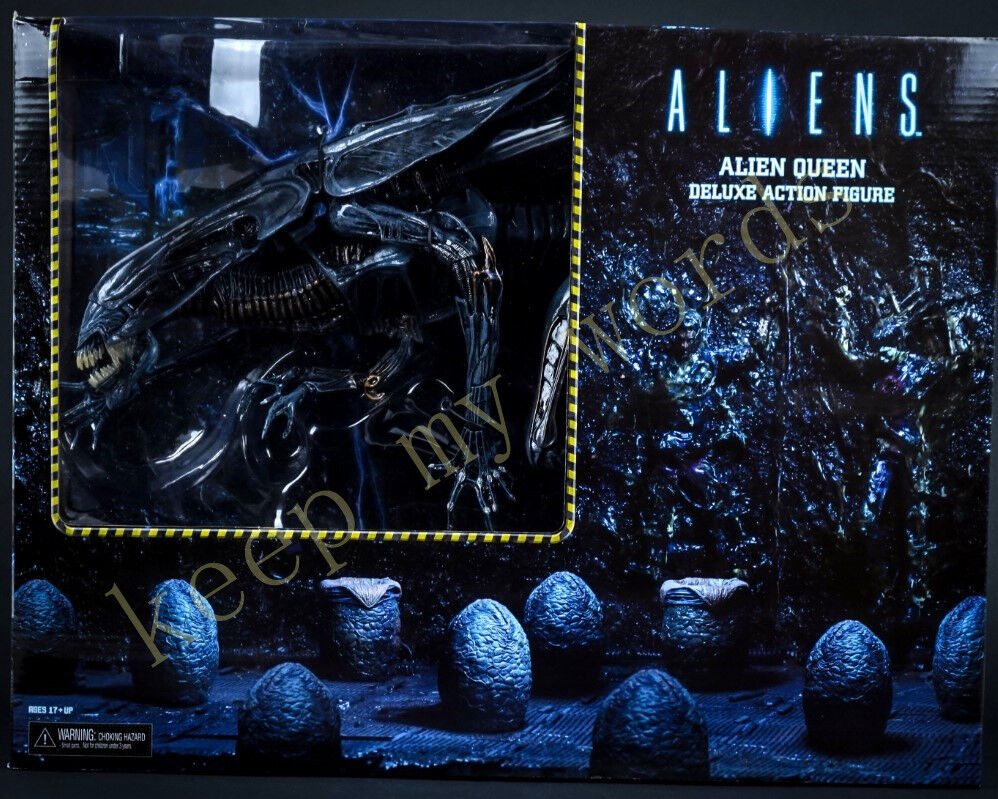 Aliens Ultra Deluxe Action Figure Xenomorph Alien Queen NECA