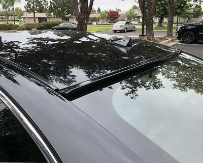 Coupe Rear Window Spoiler - Painted Black For 2008 2009-2012 HONDA ACCORD 2D COUPE-Rear Window Roof Spoiler