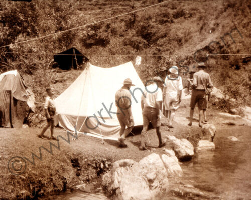8x10 Photo of Vintage US Boy Scouts in India 1934 Scouting BSA USA United States