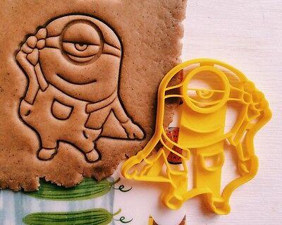 Cookie Cutter minion despicable Me cookiecutter cookies custom shape