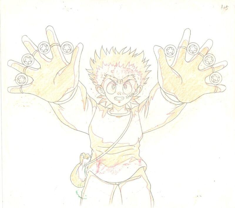 Anime Genga not Cel  Yu Yu Hakusho #179