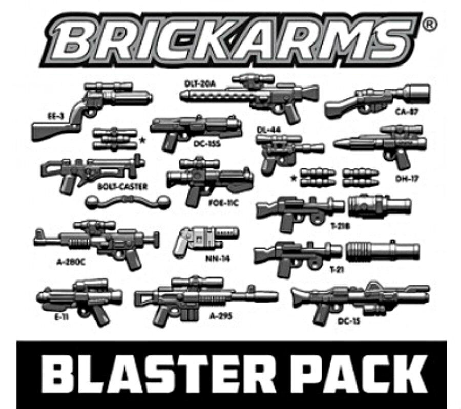 ☆NEW☆ LEGO STAR WARS  MINIFIG WEAPON GUNS BLASTERS PACK