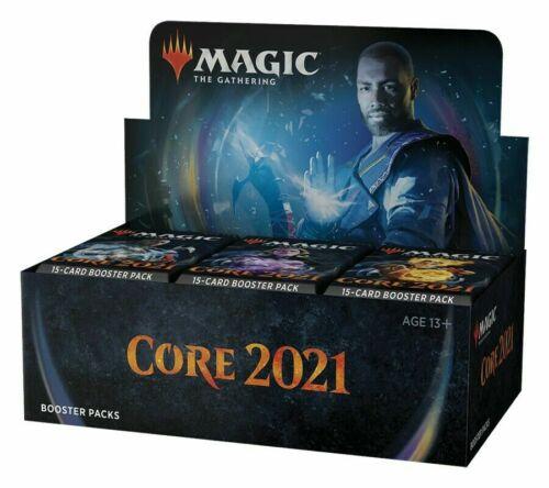 Magic Core Set 2021 M21 Booster Box MTG NEW FACTORY SEALED PRESALE SHIPS 7/3!